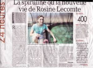 Article Sospiruline Article La Depeche